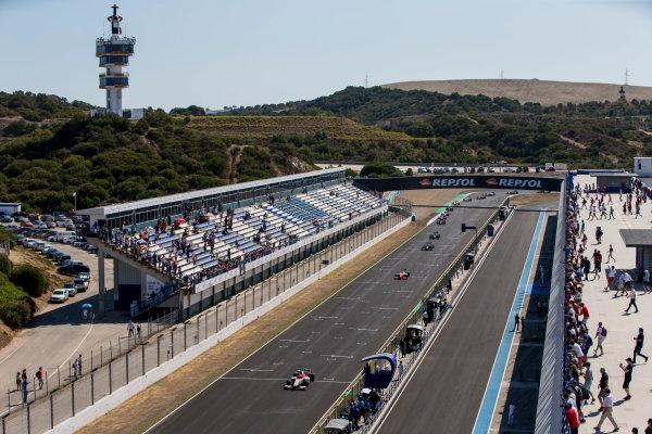 2017 FIA Formula 2 Round 10. Circuito de Jerez, Jerez, Spain. Sunday 8 October 2017. Alex Palou (JPN, Campos Racing).  Photo: Zak Mauger/FIA Formula 2. ref: Digital Image _X0W2707