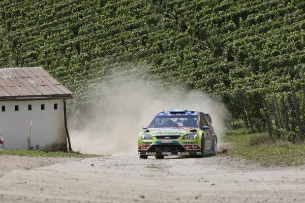 Round 10Rally Deutschland 200814th-17th August 2008Mikko Hirvonen, Ford, actionWorldwide Copyright: McKlein/LAT