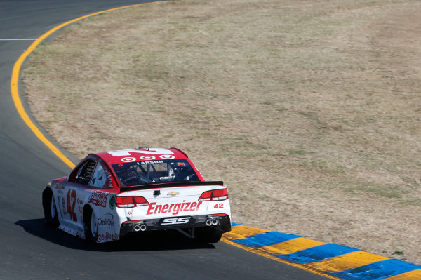Monster Energy NASCAR Cup Series Toyota/Save Mart 350 Sonoma Raceway, Sonoma, CA USA Friday 23 June 2017 Kyle Larson, Chip Ganassi Racing, Target Chevrolet SS World Copyright: Matthew T. Thacker LAT Images
