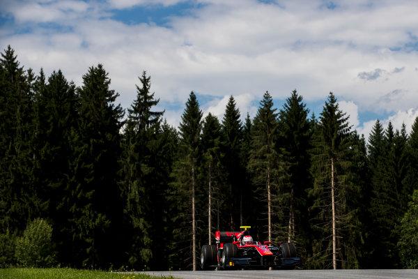 2017 FIA Formula 2 Round 5. Red Bull Ring, Spielberg, Austria. Friday 7 July 2017. Alexander Albon (THA, ART Grand Prix).  Photo: Zak Mauger/FIA Formula 2. ref: Digital Image _54I6843