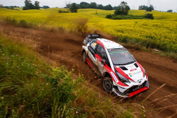 2017 FIA World Rally Championship, Round 08, Rally Poland / June 29 - July 2 2017, Juho Hanninen, Toyota, action, Worldwide Copyright: McKlein/LAT