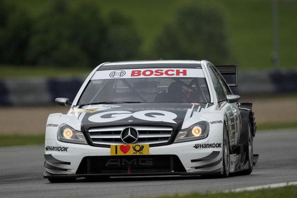 Maro Engel (GER), GQ AMG Mercedes.DTM, Rd3, Red Bull Ring, Spielberg, Austria. 3-5 June 2011.