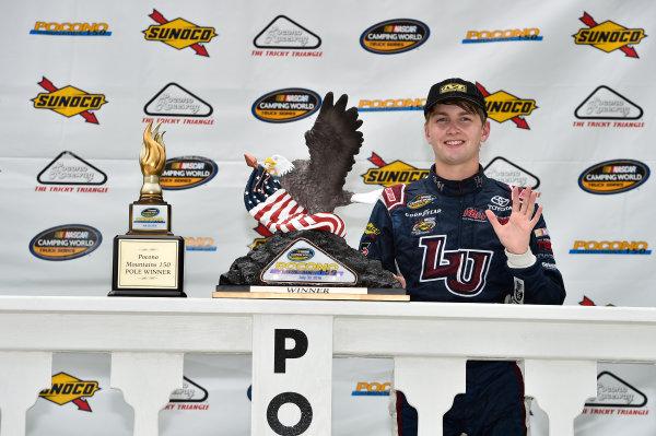 29-30 July, 2016, Long Pond, Pennsylvania USA William Byron, Celebrates in Victory Lane. ©2016, John Harrelson / LAT Photo USA