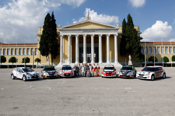 Round 07 Acropolis Rally. 16th - 19th June 2011.SWRC drivers, Portrait. Worldwide Copyright: McKlein/LAT