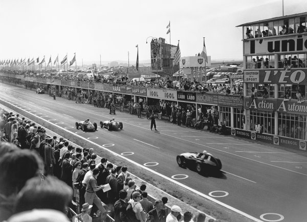 Reims, France. 4th - 6th July 1958.