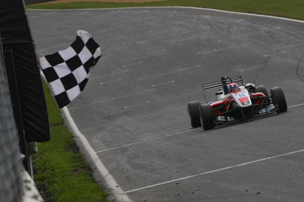 2014 British F3 International Series, Brands Hatch, Kent. 30th - 31st August 2014. Santino Ferrucci (USA) Fortec Motorsports Dallara Mercedes. World Copyright: Ebrey / LAT Photographic.