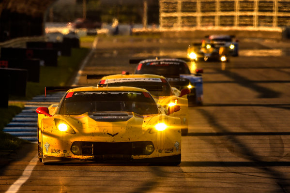 24-25 July, 2014, Indianapolis, Indiana USA 4, Chevrolet, Corvette C7.R, GTLM, Oliver Gavin, Tommy Milner, 3, Chevrolet, Corvette C7.R, GTLM, Jan Magnussen, Antonio Garcia, 55, BMW, Z4 GTE, GTLM, Bill Auberlen, Andy Priaulx ?2014, Scott R LePage  LAT Photo USA