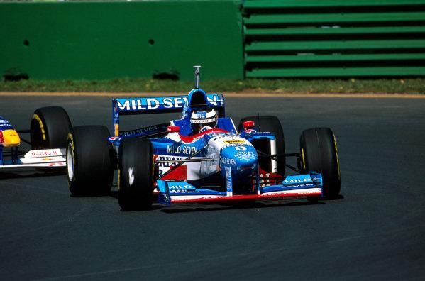 Albert Park, Melbourne, Australia.7-9 March 1997.Gerhard Berger (Benetton B197 Renault) 4th position.Ref-97 AUS 19.World Copyright - LAT Photographic