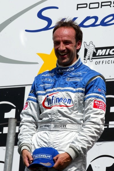 Race winner Marco Werner (GER) Infineon.