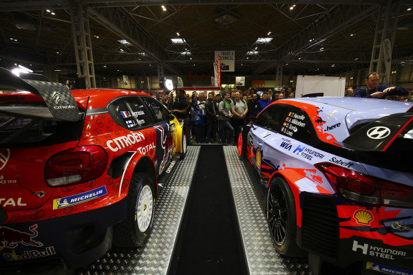 The 2019 WRC launch.