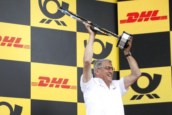 Podium: Ernst Moser, Audi Sport Team Phoenix.