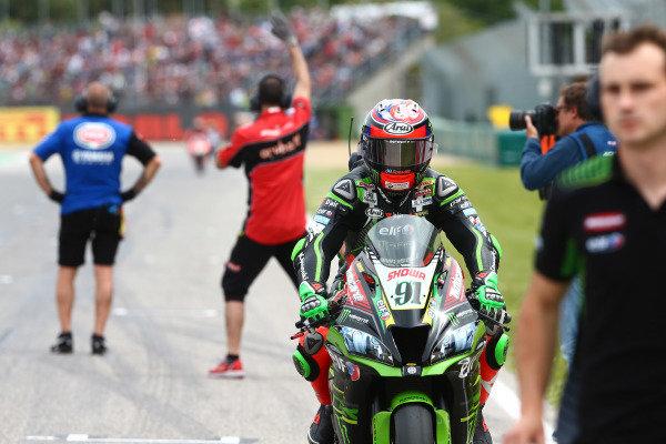 Leon Haslam, Kawasaki Racing Team.