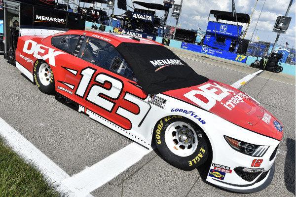 #12: Ryan Blaney, Team Penske, DEX Imaging Ford Mustang