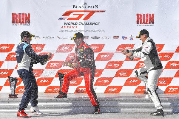 #18 Audi Sport RS3 LMS (DSG) of Stephen Vajda  with EXR Team by Premat  Bryan Putt  Christian Cole  2019 Blancpain GT World Challenge America - Las Vegas, Las Vegas NV