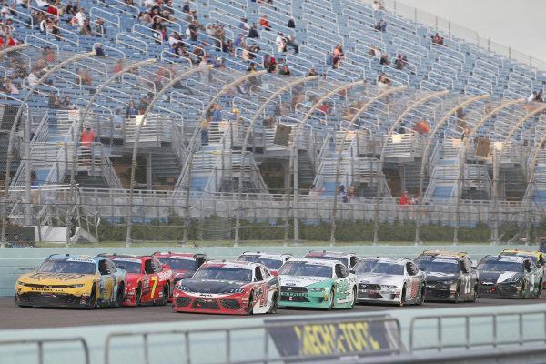 #20: Christopher Bell, Joe Gibbs Racing, Toyota Supra Rheem-Watts #9: Noah Gragson, JR Motorsports, Chevrolet Camaro PUBG MOBILE #22: Austin Cindric, Team Penske, Ford Mustang MoneyLion