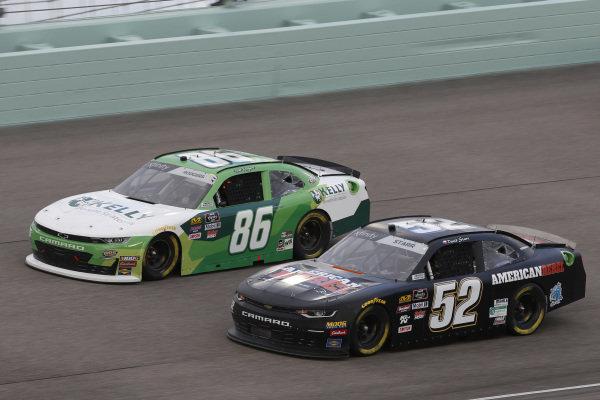#86: Joe Nemechek, Brandonbilt Motorsports, Chevrolet Camaro Kelly Benefit Strategies #52: David Starr, Means Motorsports, Chevrolet Camaro