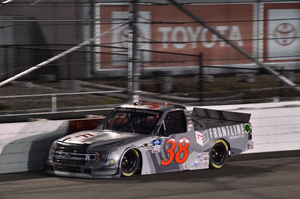 #38: Todd Gilliland, Front Row Motorsports, Ford F-150 Frontline Enterprises Inc