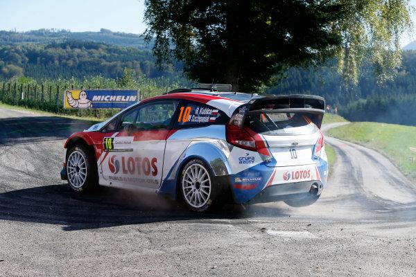 2014 World Rally Championship Rallye de France 3rd - 5th October September 2014 Robert Kubica, Ford, action Worldwide Copyright: McKlein/LAT