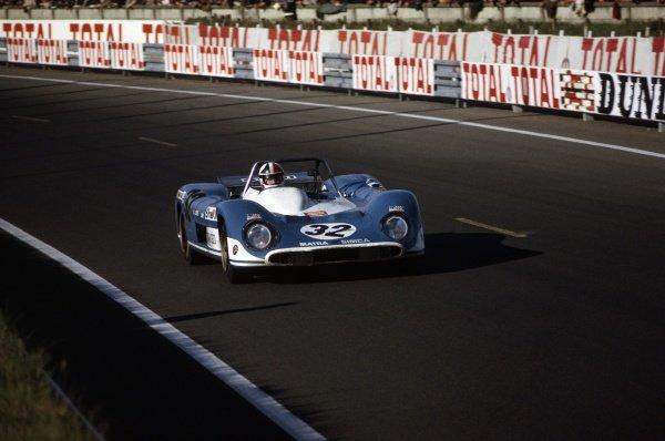 1971 Le Mans 24 hours. Le Mans, France. 12-13 June 1971. Jean-Pierre Beltoise/Chris Amon (Matra-Simca MS660), retired. World Copyright: LAT Photographic Ref: 71LM12