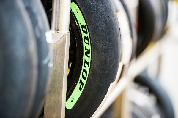 2017 Moto2 Championship - Round 4 Jerez, Spain Thursday 4 May 2017 Dunlop tyres World Copyright: Gold & Goose Photography/LAT Images ref: Digital Image 667637