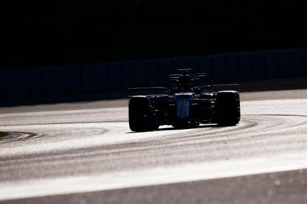 Circuit de Barcelona Catalunya, Barcelona, Spain. Tuesday 07 March 2017. Lewis Hamilton, Mercedes F1 W08 EQ Power+. World Copyright: Zak Mauger/LAT Images ref: Digital Image _X0W5914