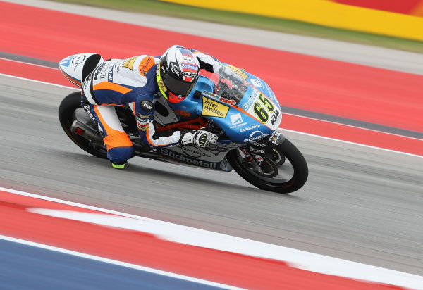2017 Moto3 Championship - Round 3 Circuit of the Americas, Austin, Texas, USA Friday 21 April 2017 Philipp Ottl, Schedl GP Racing World Copyright: Gold and Goose Photography/LAT Images ref: Digital Image Moto3-500-1822