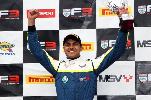 2017 BRDC Formula Three Championship, Oulton Park, 15th-17th April, 2017, Enaam Ahmed (GBR) Carlin BRDC F3  World copyright. JEP/LAT Images