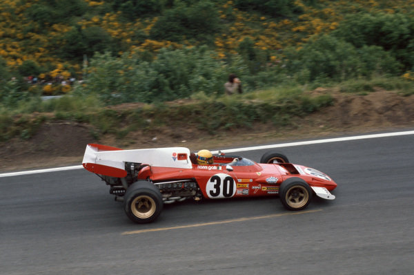 1972 French Grand Prix.  Clermont-Ferrand, France. 30th June - 2nd July 1972.  Nanni Galli, Ferrari 312B2, 13th position.  Ref: 72FRA17. World Copyright: LAT Photographic