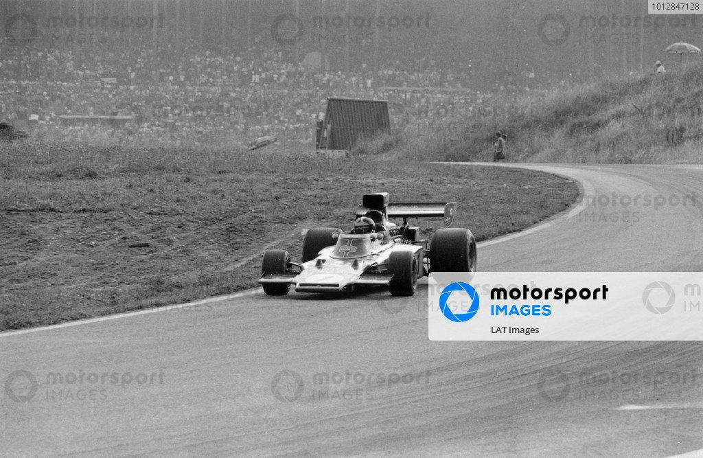 1973 Austrian Grand Prix.Osterreichring, Austria. 19 August 1973.Emerson Fittipaldi (Lotus 72D-Ford Cosworth). Ref-5660 #37World Copyright - LAT Photographic