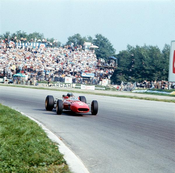 1966 Italian Grand Prix.Monza, Italy. 2-4 September 1966.Lorenzo Bandini (Ferrari 312).Ref-2357.World Copyright - LAT Photographic