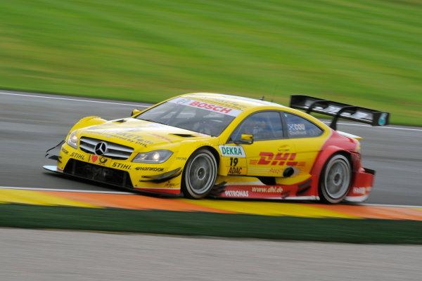 Round 9 - Valencia, Spain28th - 30th September 2012David Coulthard (GBR), Muecke Motorsport, AMG Mercedes C-CoupeWorld Copyright:  XPB Images / LAT Photographicref: Digital Image 2373308_HiRes