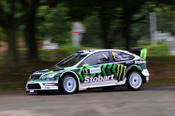 Round 11Rally de France 30/9-3/10Matthew Wilson, Ford WRC, Action.Worldwide Copyright: McKlein/LAT
