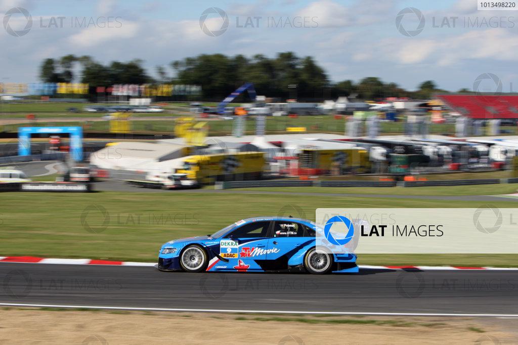 Alexandre Premat (FRA), Audi Sport Team Phoenix, TV Movie Audi A4 DTM (2008).DTM, Rd7, Brands Hatch, England, 3-5 September 2010.World Copyright: LAT Photographicref: dne1004se79