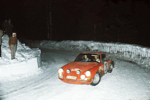 1969 Monte Carlo Rally.