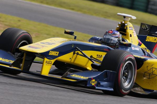 2017 Japanese Super Formula. Autopolis, Japan. 8th - 9th September 2017. Rd 5. Kazuya Oshima ( #8 SUNOCO TEAM LEMANS SF14 ) World Copyright: Masahide Kamio / LAT Images 2017_SF_Rd5_012