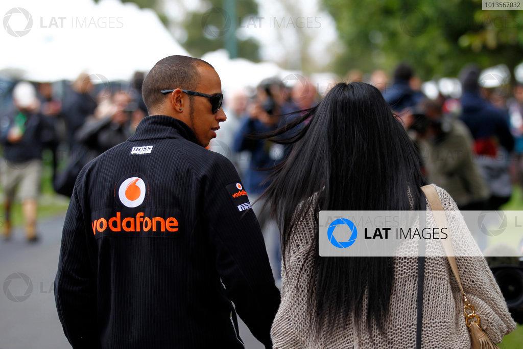 Albert Park, Melbourne, Australia 25th March 2011. Lewis Hamilton, McLaren MP4-26 Mercedes. Portrait.  World Copyright: Steven Tee/LAT Photographic ref: Digital Image _A8C2392