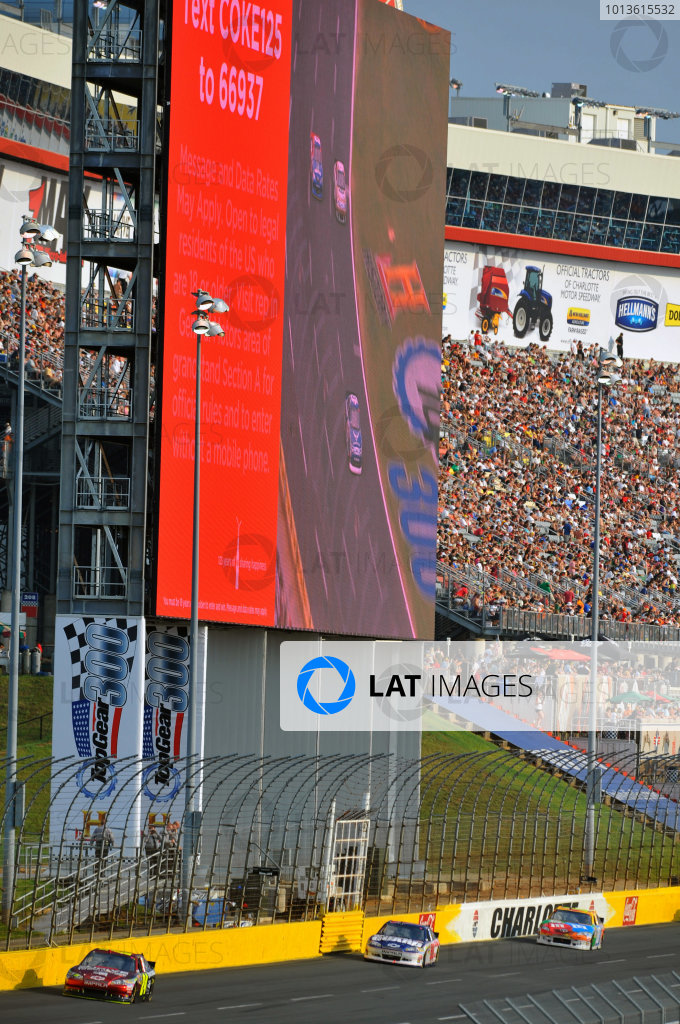 26-29 May, 2011, Concord, North Carolina USAJeff Gordon and Dale Earnhardt Jr.©2011, LAT SouthLAT Photo USA