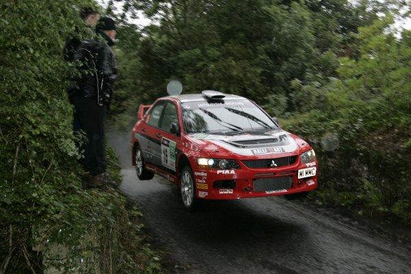 2006 British Rally ChampionshipUlster Rally, Armagh.2nd September 2006Ryan ChampionWorld Copyright - Ebrey/LAT Photographic