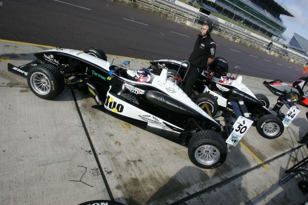 2007 British Formula Three Championship.Rockingham, England 29th and 30th September 2007.MansellsWorld Copyright: Jakob Ebrey/LAT