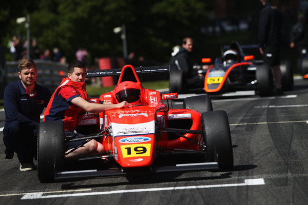 2015 MSA Formula Powered by Ford EcoBoost, Oulton Park, Cheshire. 5th - 7th June 2015. Sandy Mitchell (GBR) TRS Arden MSA Formula. World Copyright: Ebrey / LAT Photographic.