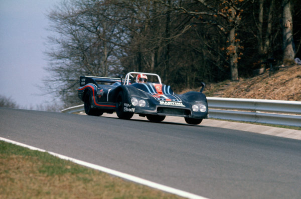 Nurburgring, Germany. 4th April 1976. Rd 11.Rolf Stommelen (Porsche 936 Turbo), 5th position, action. World Copyright: LAT Photographic.Ref:  76SCARS