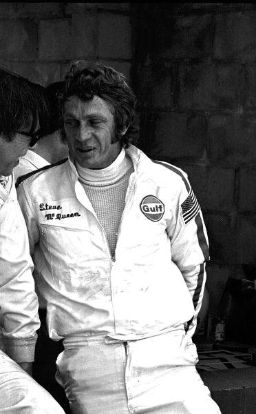 Sebring, Florida, USA.21 March 1970.Steve McQueen (Porsche), 2nd position.Ref-2925/18.World - LAT Photographic