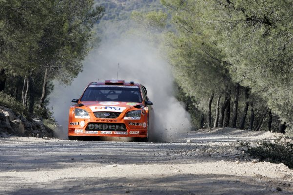 2007 FIA World Rally ChampionshipRound 8Acropolis Rally Greece31 May-3 Jun 2007Henning Solberg, Ford, Action.Worldwide Copyright: McKlein/LAT