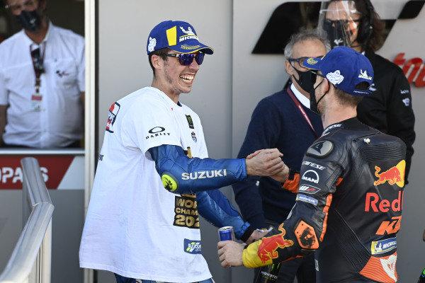 Pol Espargaro, Red Bull KTM Factory Racing, Joan Mir, Team Suzuki MotoGP.