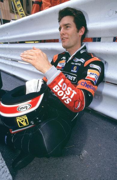 International F3000 MonacoMonte Carlo, Rd 5, 2nd - 3rd june 2000.Mark Webber - portrait.World - Bellanca/ LAT Photographic