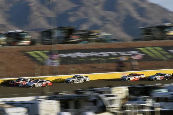 #00: Cole Custer, Stewart-Haas Racing, Ford Mustang Haas Automation and #20: Christopher Bell, Joe Gibbs Racing, Toyota Supra Rheem/Smurfit Kappa