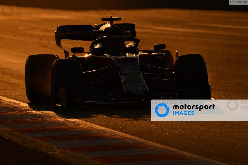 Barcelona February testing