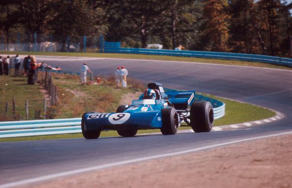 1971 United States Grand Prix.Watkins Glen, New York, USA.1-3 October 1971.Francois Cevert (Tyrrell 002 Ford) 1st position.Ref-71 USA 05.World Copyright - LAT Photographic