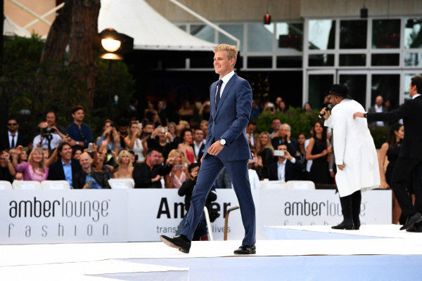 Marcus Ericsson (SWE) Sauber at Amber Lounge Fashion Show, Le Meridien Beach Plaza Hotel, Monaco, Friday 27 May 2016.