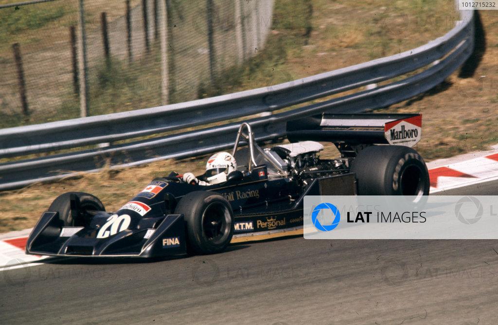 1976 Dutch Grand Prix.Zandvoort, Holland.27-29 August 1976.Arturo Merzario (Williams FW05 Ford).World Copyright - LAT Photographic